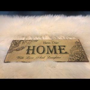 HOME sign decor